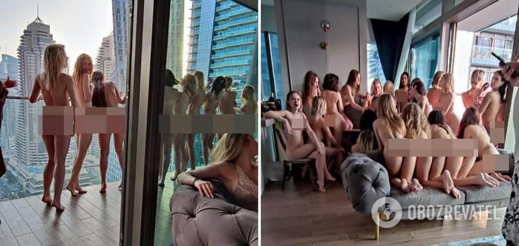 У Дубаї арештували натовп голих дівчат, серед затриманих – полтавки. Коло -  новини Полтави